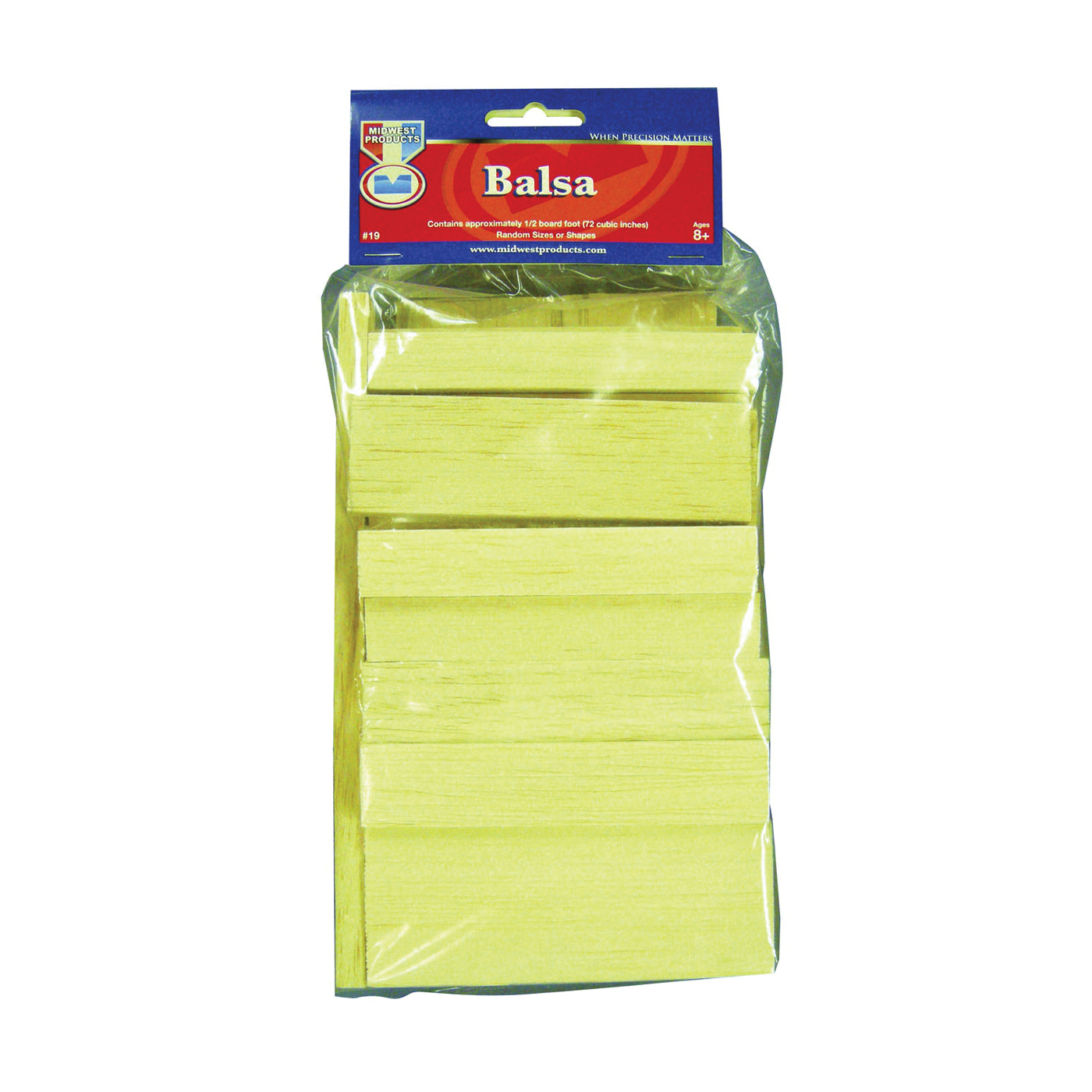 Picture of MIDWEST PRODUCTS 19 Craft Wood, Balsa