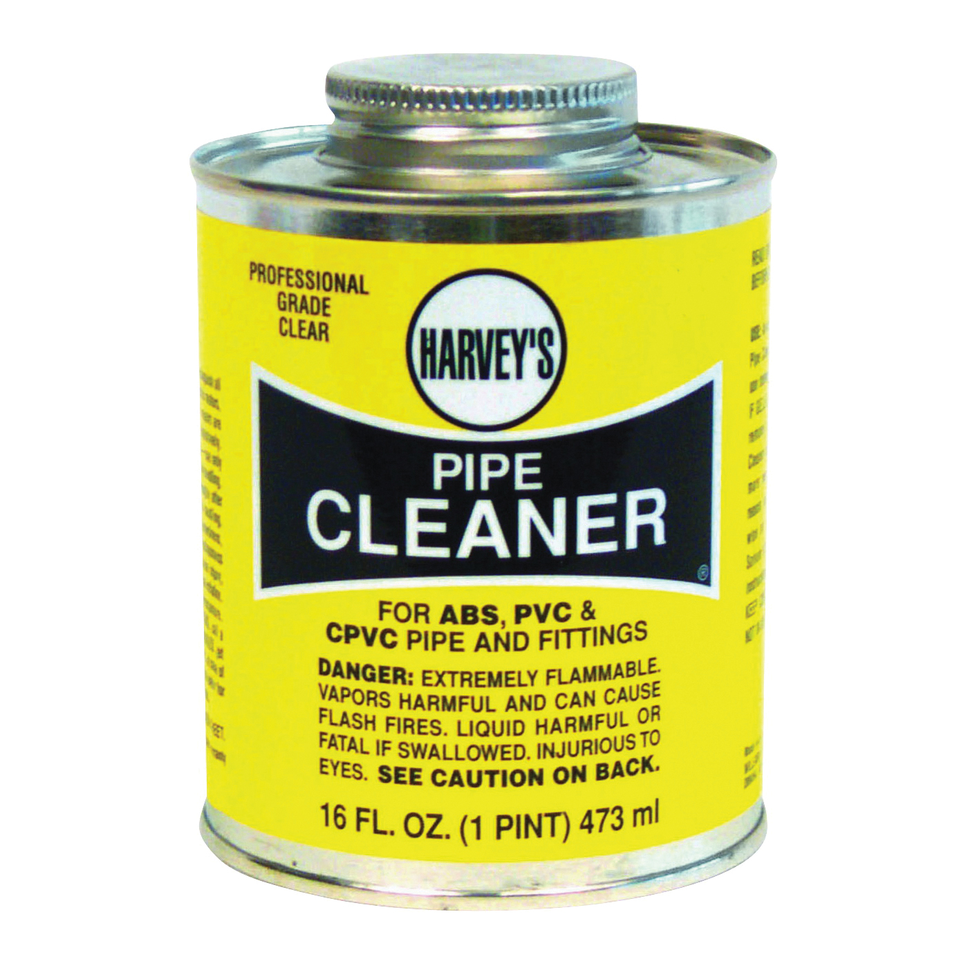 Picture of HARVEY 019120-12 Pipe Cleaner, Liquid, Clear, 16 oz Package, Can