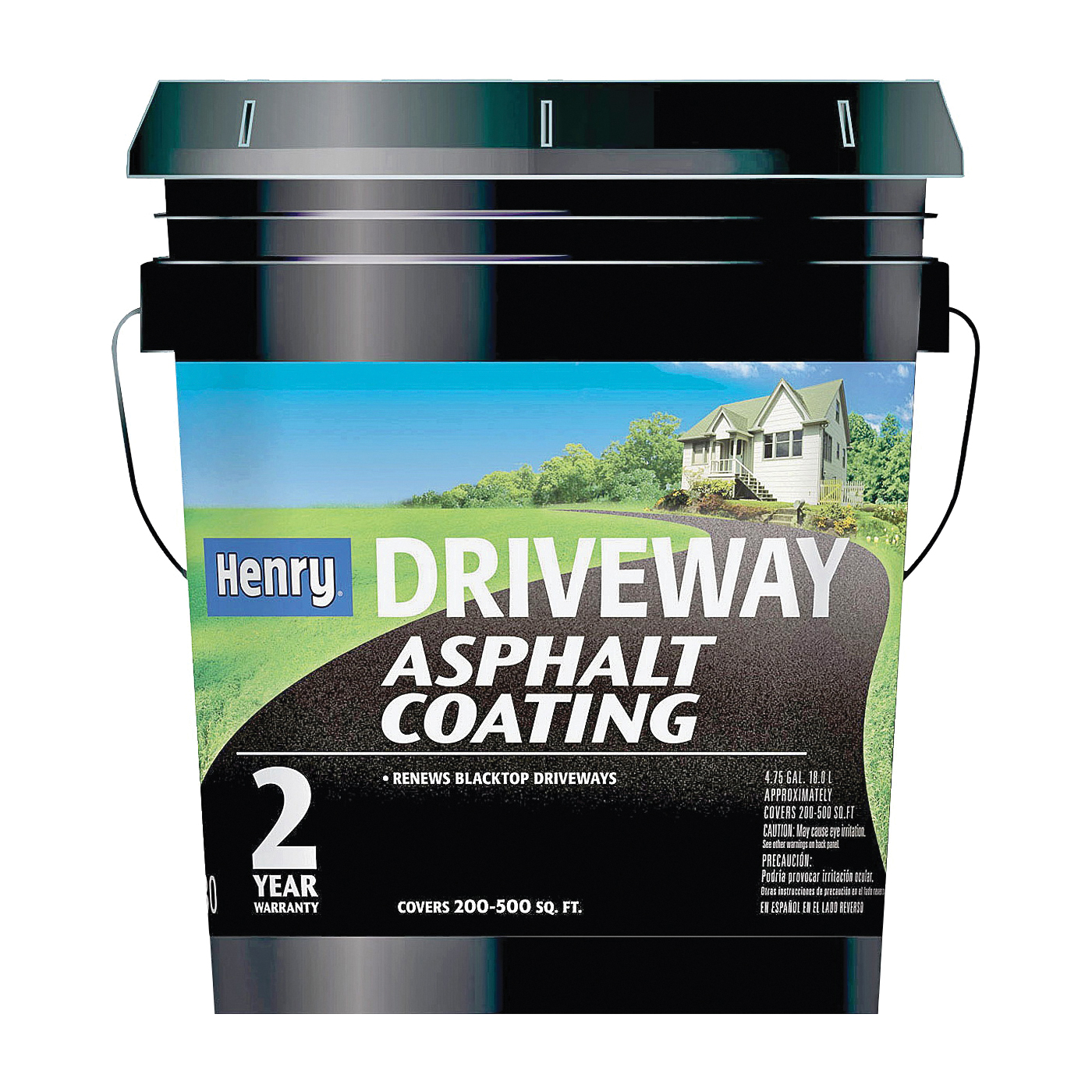 Picture of Henry HE130074 Asphalt Coating, Liquid, Black, 5 gal Package, Pail