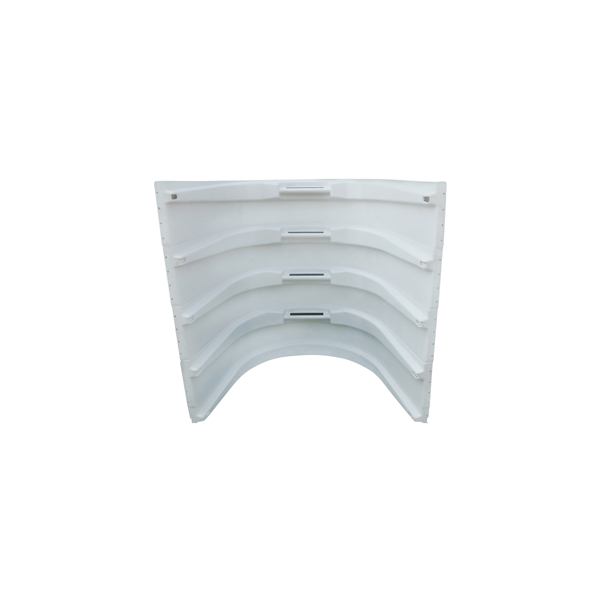Picture of Amerimax 75447 Window Well, 43 in L, 61 in W, 20-7/8 in H, Plastic