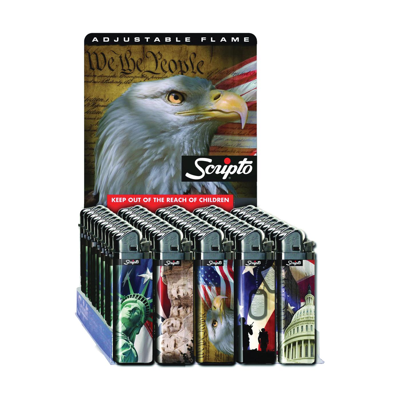 Picture of Scripto DW13L-50/USA Pocket Lighter, Child Safe: Yes