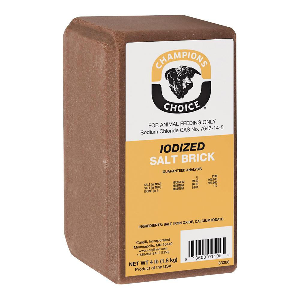 Picture of Roto Salt Champion's Choice 110005052 Salt Block, 4 lb Package