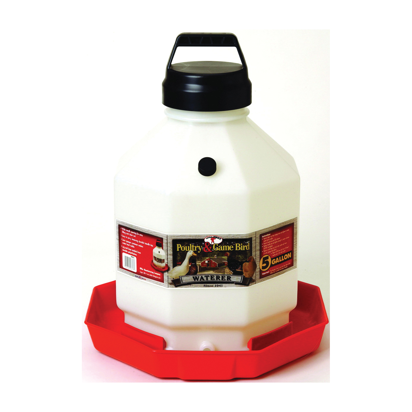 Picture of Little Giant PPF5 Poultry Waterer, 5 gal Capacity, Plastic