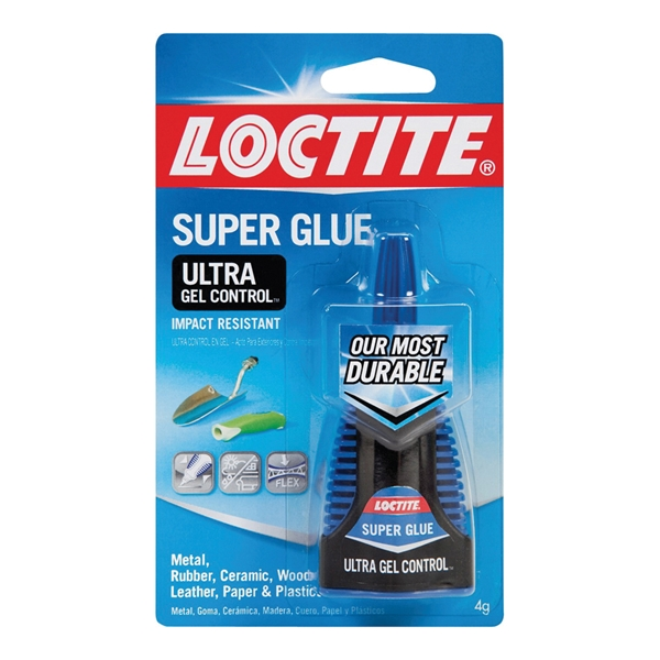 Picture of Loctite 1363589 Ultra Glue Gel, Gel, Irritating, Clear, 4 g Package, Bottle
