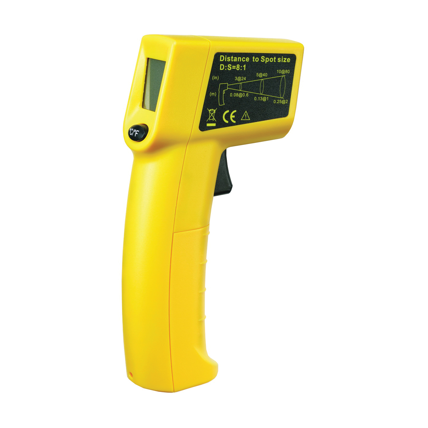 Picture of GB IRT200 Infrared Thermometer, -26 to 716 deg F, LCD Display
