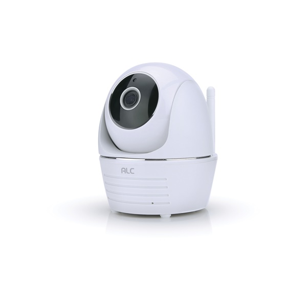 Picture of ALC AWF23 Wi-Fi Camera, 90 deg View, 1080 pixel Resolution, Night Vision: 35 ft, White, Wall Mounting