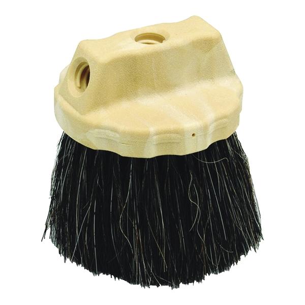 Picture of Marshalltown 832 Stippling Brush, 5 in Dia Brush, Horsehair/Polypropylene Trim