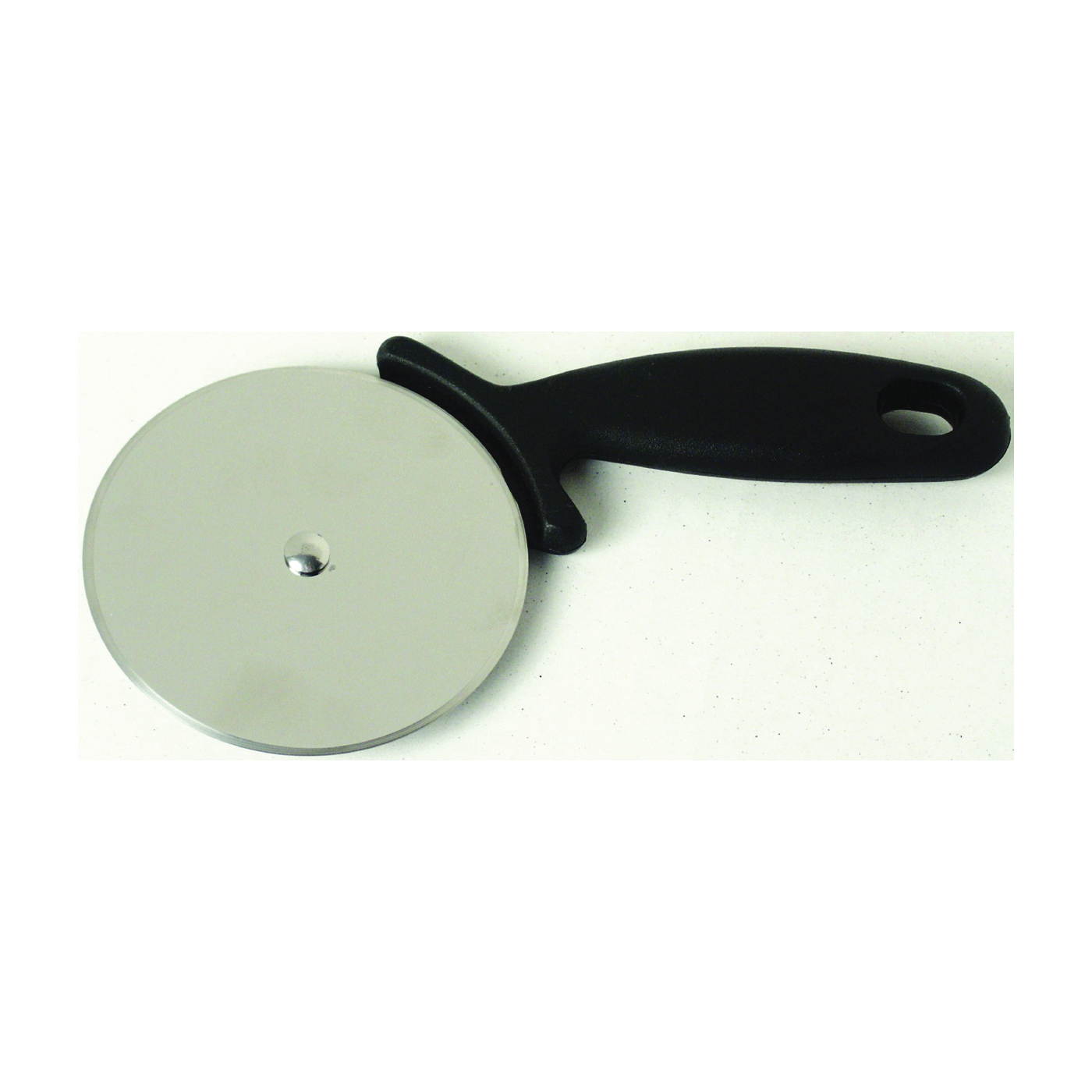 Picture of CHEF CRAFT 21370 Pizza Cutter, Stainless Steel Blade, Black Handle, Dishwasher Safe: Yes