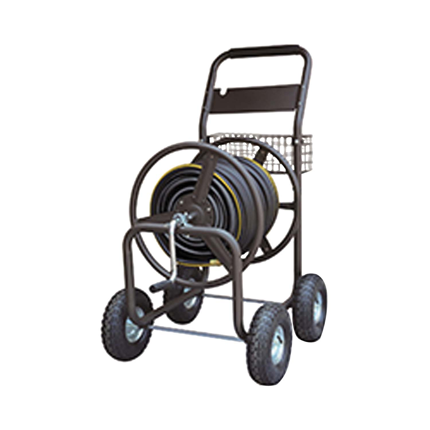 Picture of Landscapers Select TC4703 Hose Reel Cart, 5/8 in Hose, 400 ft of 5/8 in Hose, Steel