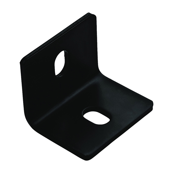 Picture of National Hardware 1154BC Series N351-497 Corner Brace, 2.4 in L, 3 in W, 2.4 in H, Steel, 3/16 Thick Material
