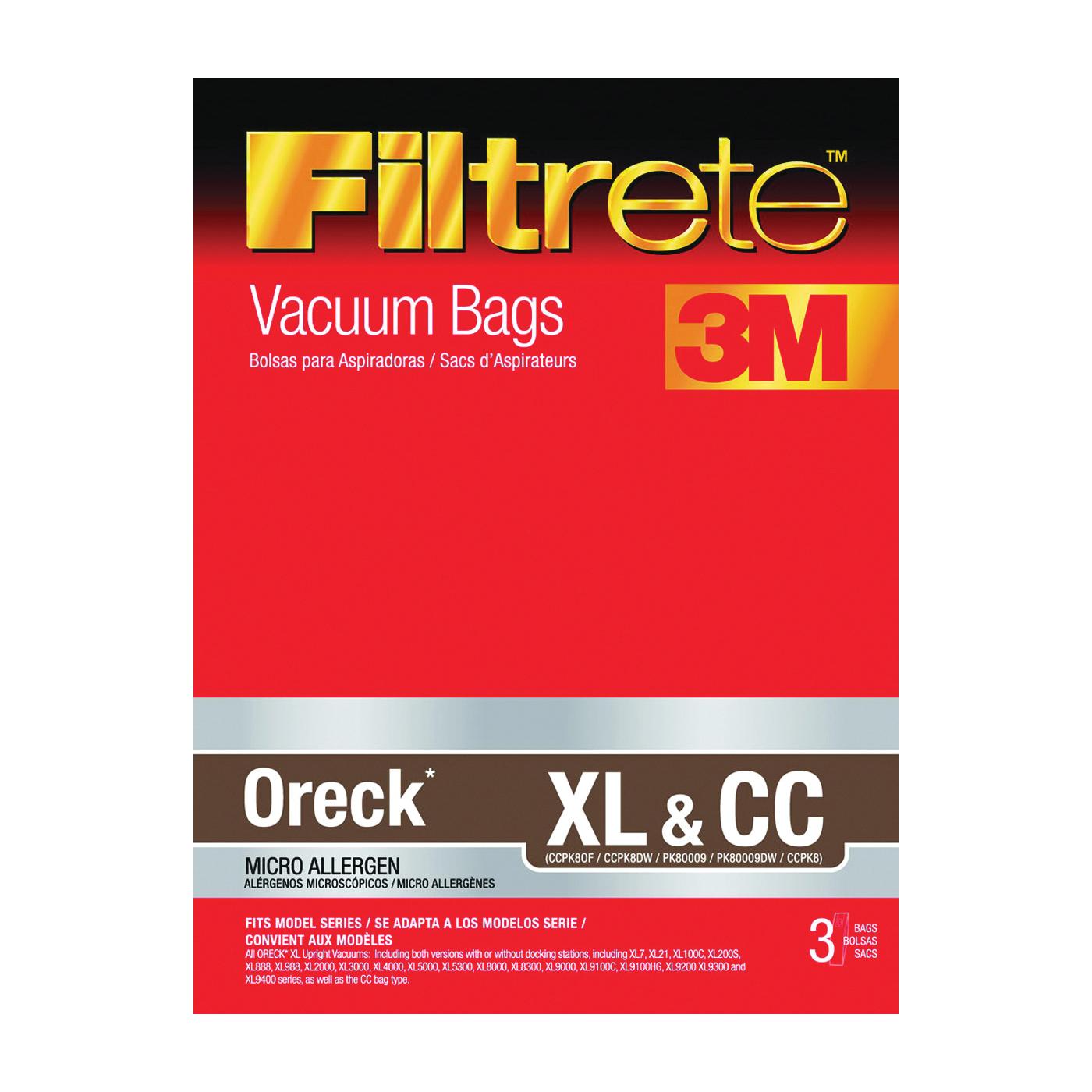 Picture of Filtrete 68710-6 Vacuum Cleaner Bag
