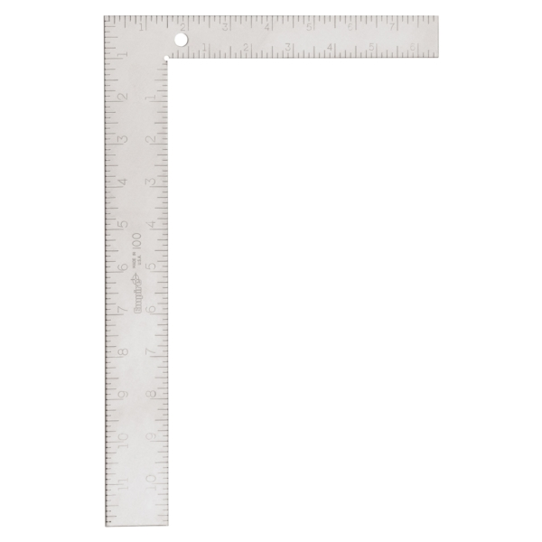 Picture of Empire ARC-SCRIBE 100 Framing Square, 1/8 in Graduation, Steel