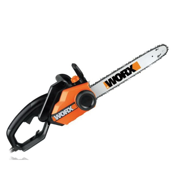 Picture of WORX WG304.1 Electric Chainsaw, 15 A, 120 V, 18 in L Bar/Chain, 3/8 in Bar/Chain Pitch, Oregon Chain