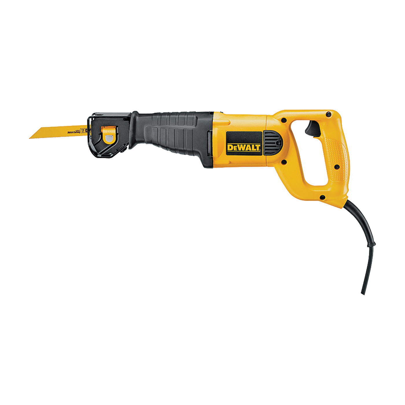 Picture of DeWALT DWE304 Reciprocating Saw, 120 V, 10 A, 1-1/8 in L Stroke, 2800 spm SPM