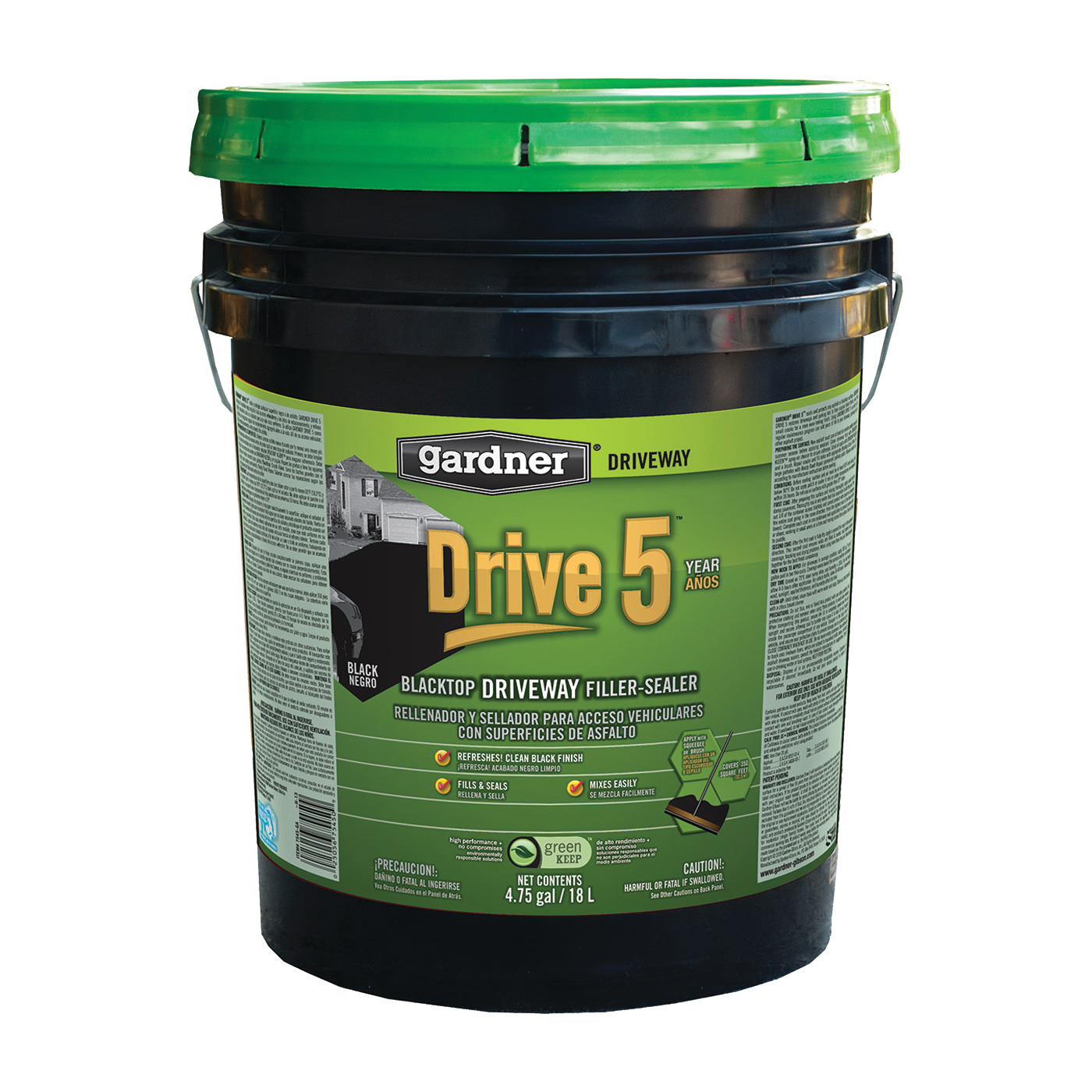 Picture of Gardner 7545-GA Driveway Filler and Sealer, Liquid, 5 gal Package, Pail
