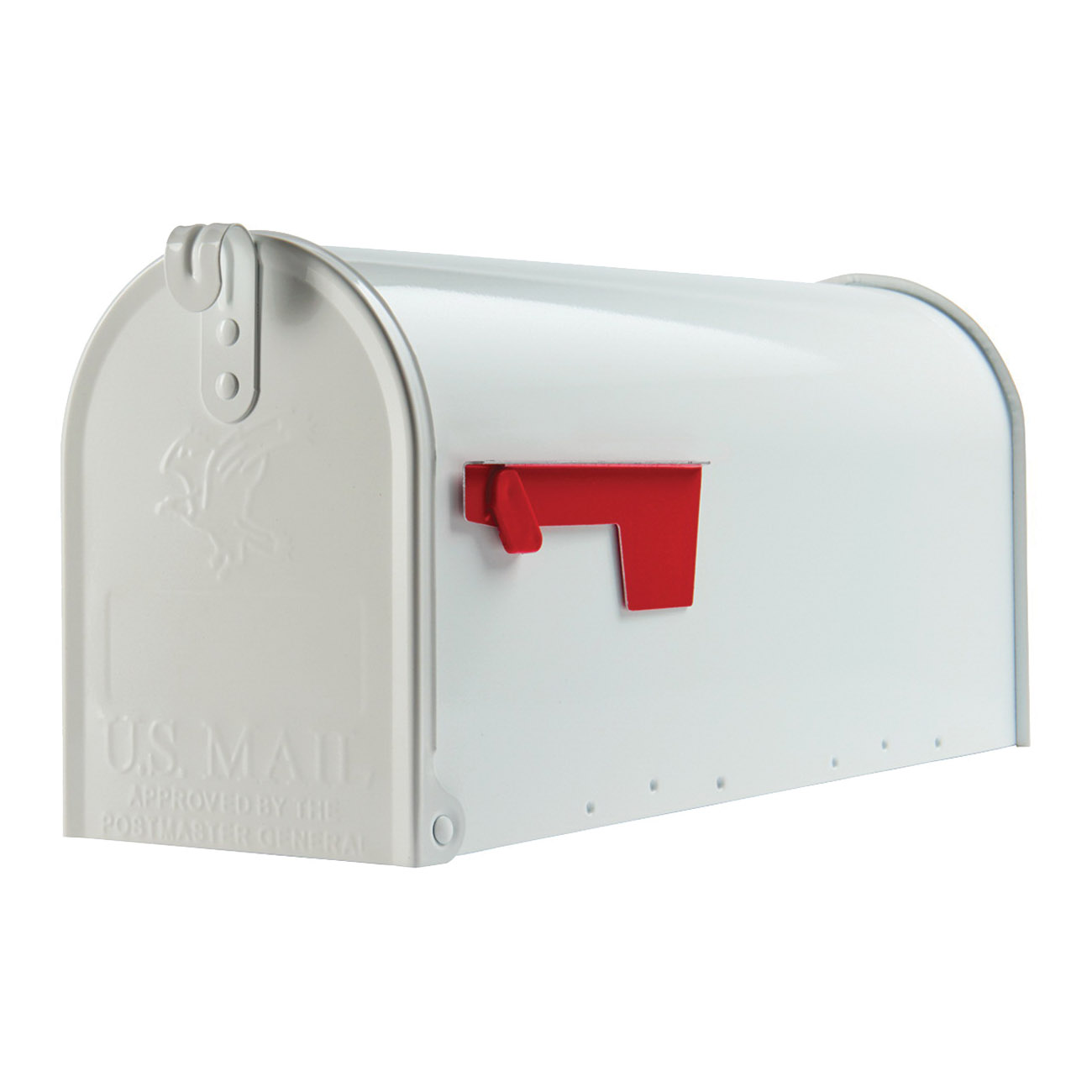 Picture of Gibraltar Mailboxes Elite E1100W00 Mailbox, 800 cu-in Capacity, Galvanized Steel, Powder-Coated, 6.9 in W, 8.9 in H
