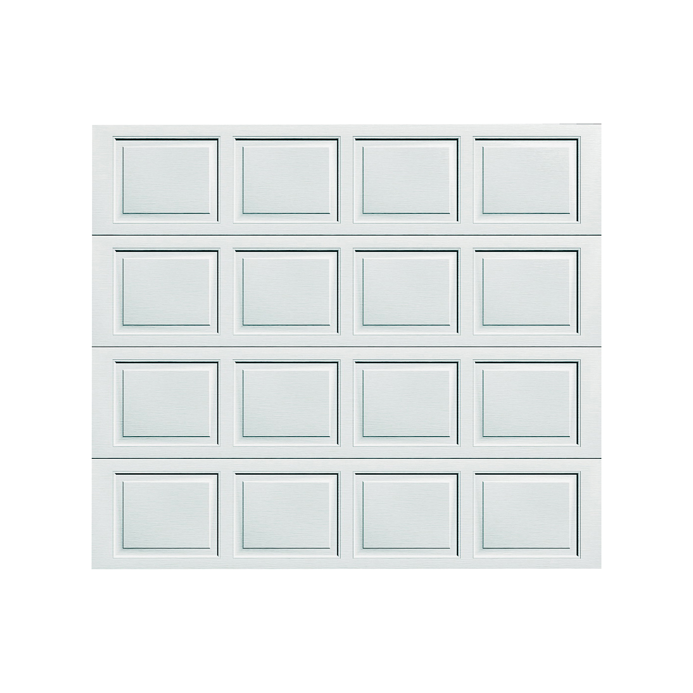 Picture of WAYNE DALTON 8000 Garage Door, 8 ft W Door, 7 ft H Door, Steel Door, White