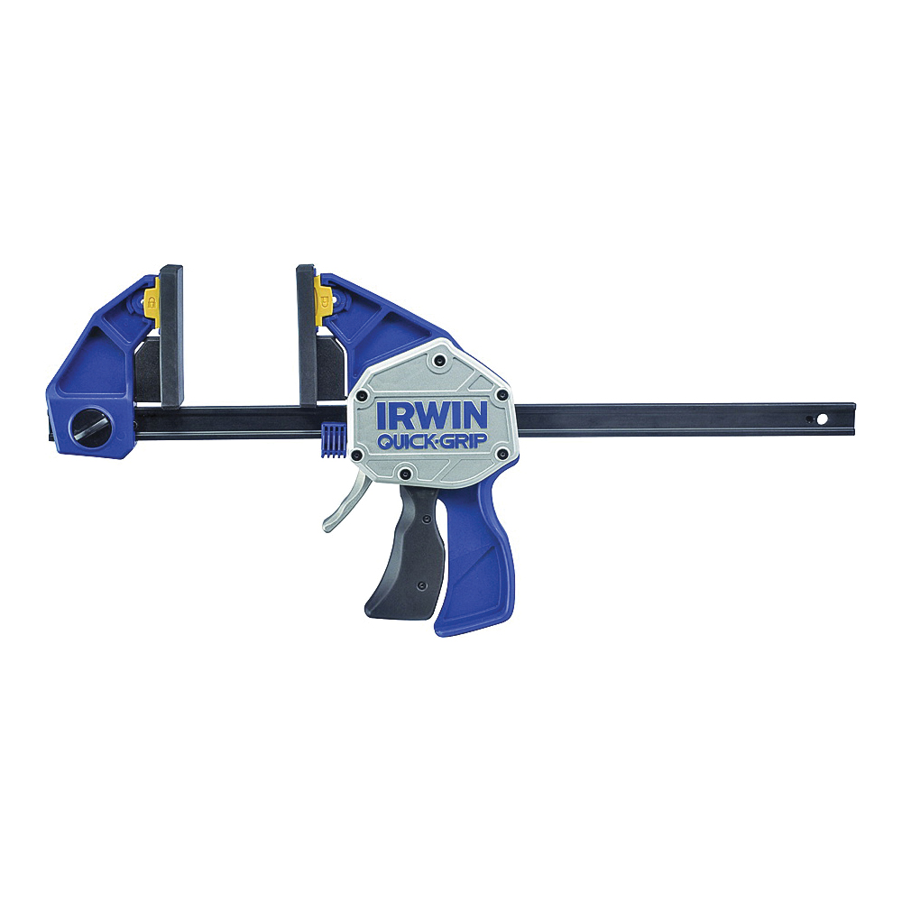 Picture of IRWIN QUICK-GRIP 1964713/2021418N Bar Clamp/Spreader, 600 lb, 18 in Max Opening Size, 3-5/8 in D Throat