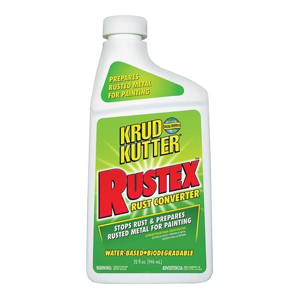 Picture of KRUD KUTTER RUSTEX RX326 Corrosion Inhibitor, Liquid, Mild, Light Green, 32 oz, Bottle