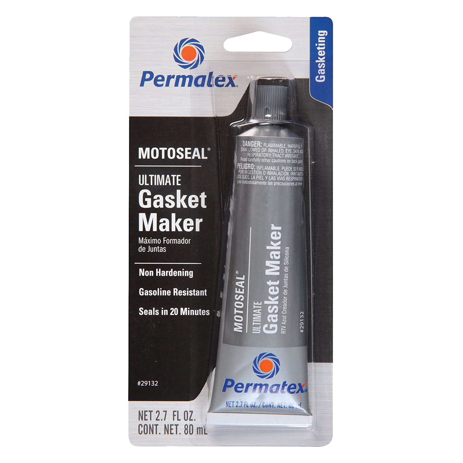 Picture of Permatex 29132 Gasket Maker, 2.7 oz Package, Tube, Paste, Aromatic