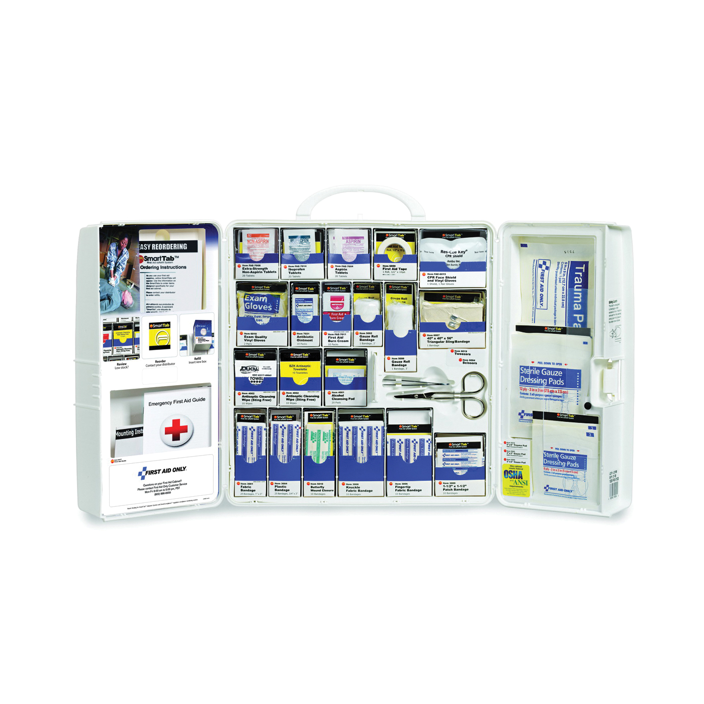 Picture of FIRST AID ONLY 1000-FAE-0103 First Aid Cabinet