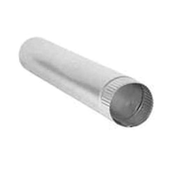 Picture of DUNDAS JAFINE P4E20ZW Dryer Vent Pipe, Aluminum