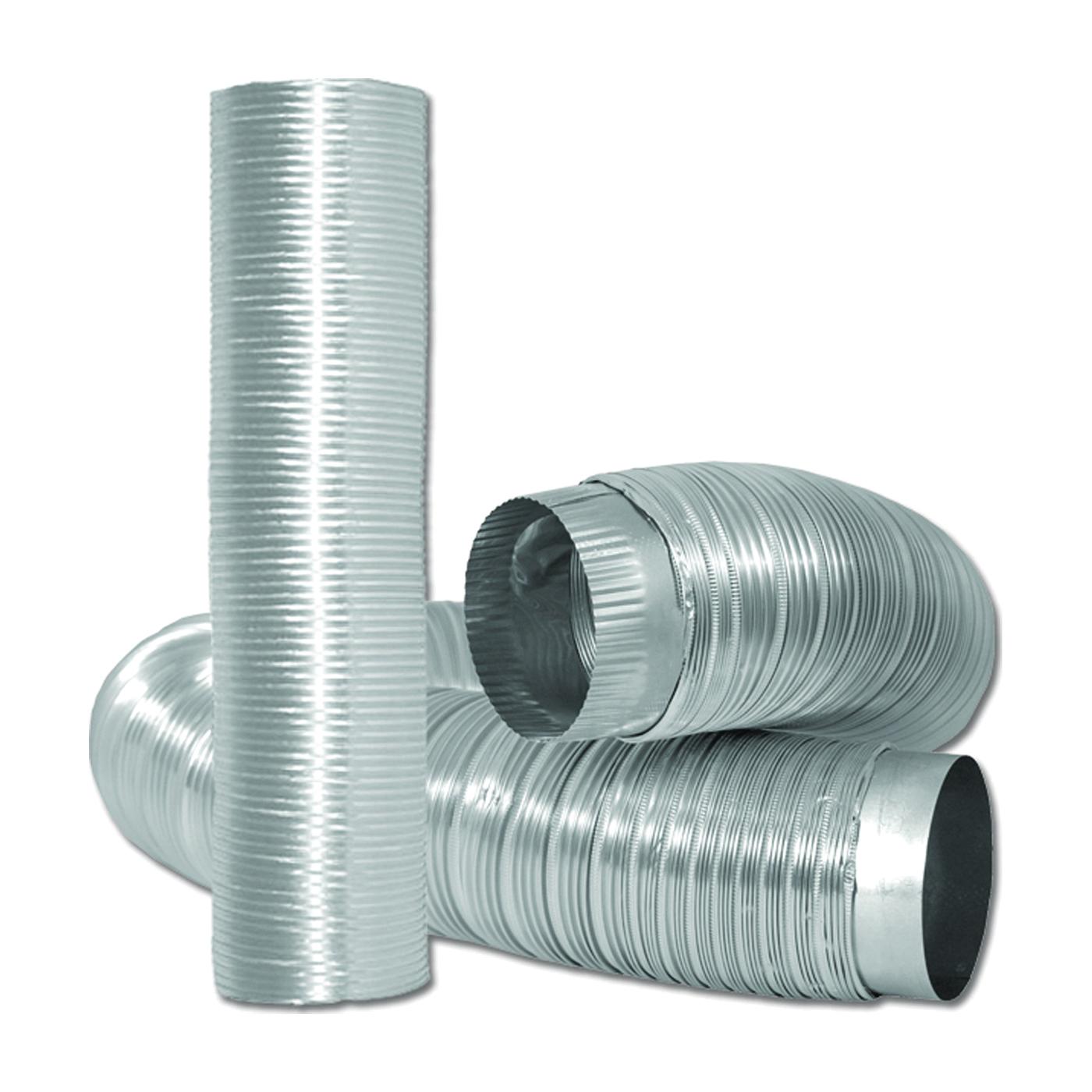 Picture of DUNDAS JAFINE MFX46C2XZW Semi-Rigid Duct, 6 ft L, Aluminum