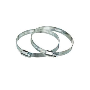 Picture of DUNDAS JAFINE MC4ZW Worm Gear Clamp, Galvanized Steel