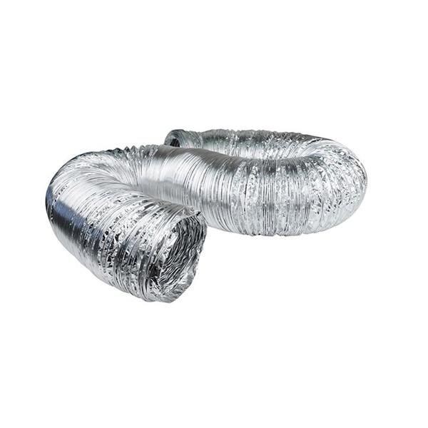 Picture of DUNDAS JAFINE AF425 Flexible Duct, 25 ft L, Aluminum, Silver