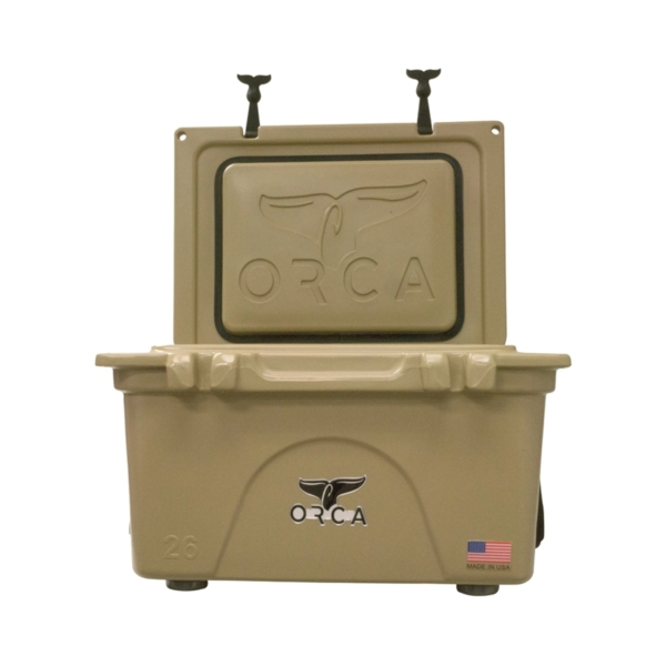 Picture of ORCA ORCT026 Cooler, 26 qt Cooler, Tan, Up to 10 days Ice Retention