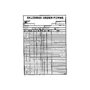 Picture of PRINTSHOP X1888 Salesman Order Form, 50-Sheet