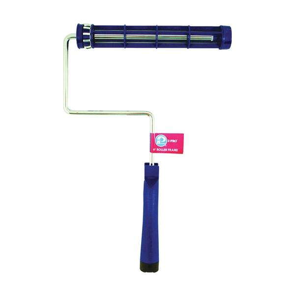 Picture of Premier Blue Tiger 9IF1000 Roller Frame, 9 in L Roller, Plastic Handle, Threaded Handle