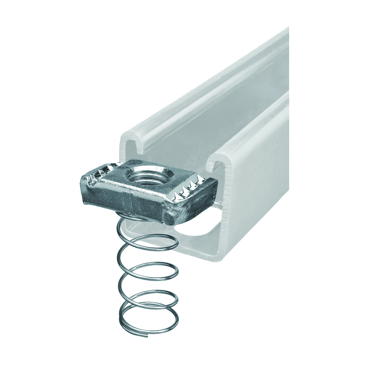 Picture of SuperStrut 100 Series ZA1001/4EG-10 Spring Nut, Steel, Galvanized