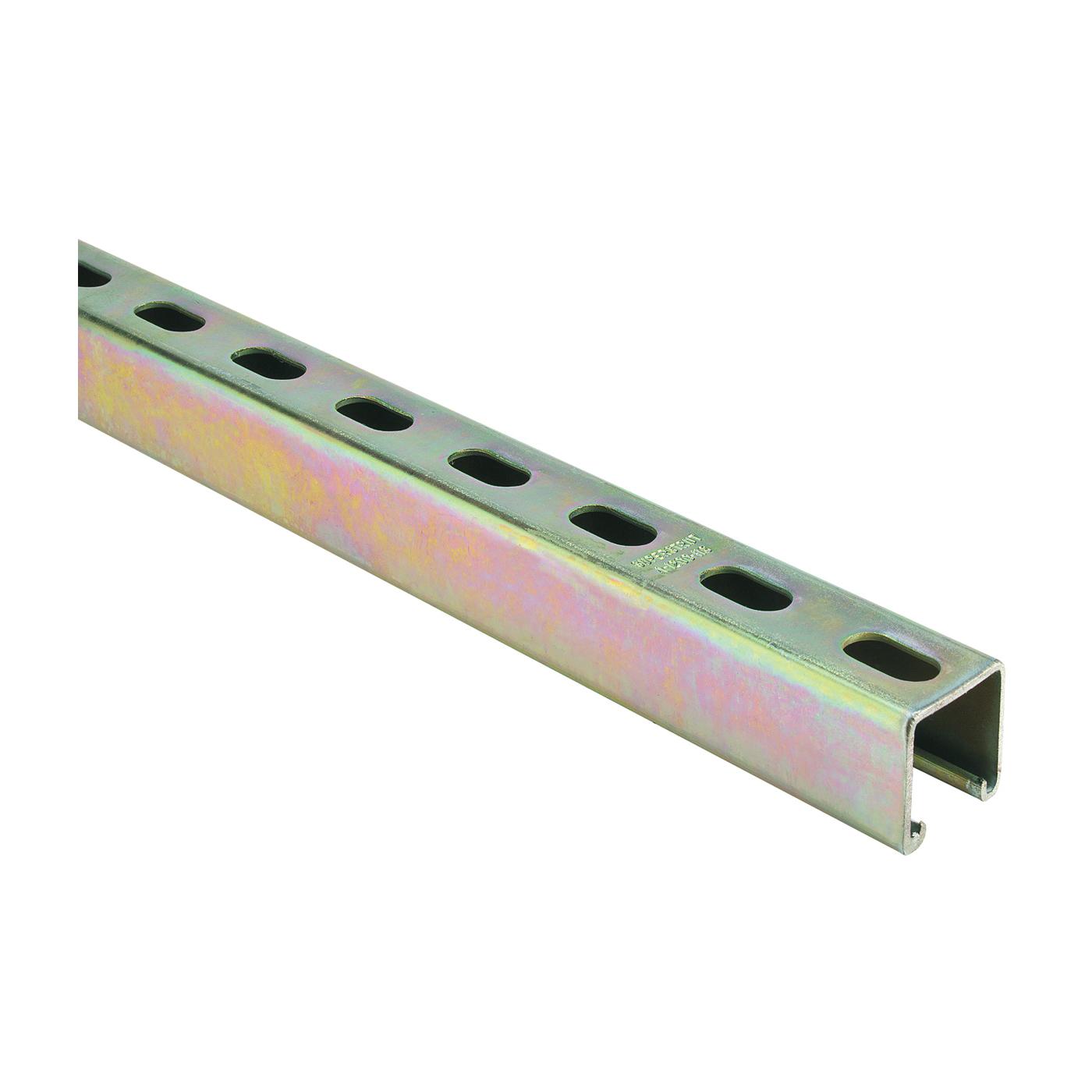 Picture of SuperStrut ZA1200HS 4 Conduit Strut Channel, Steel, Gold, Galvanized