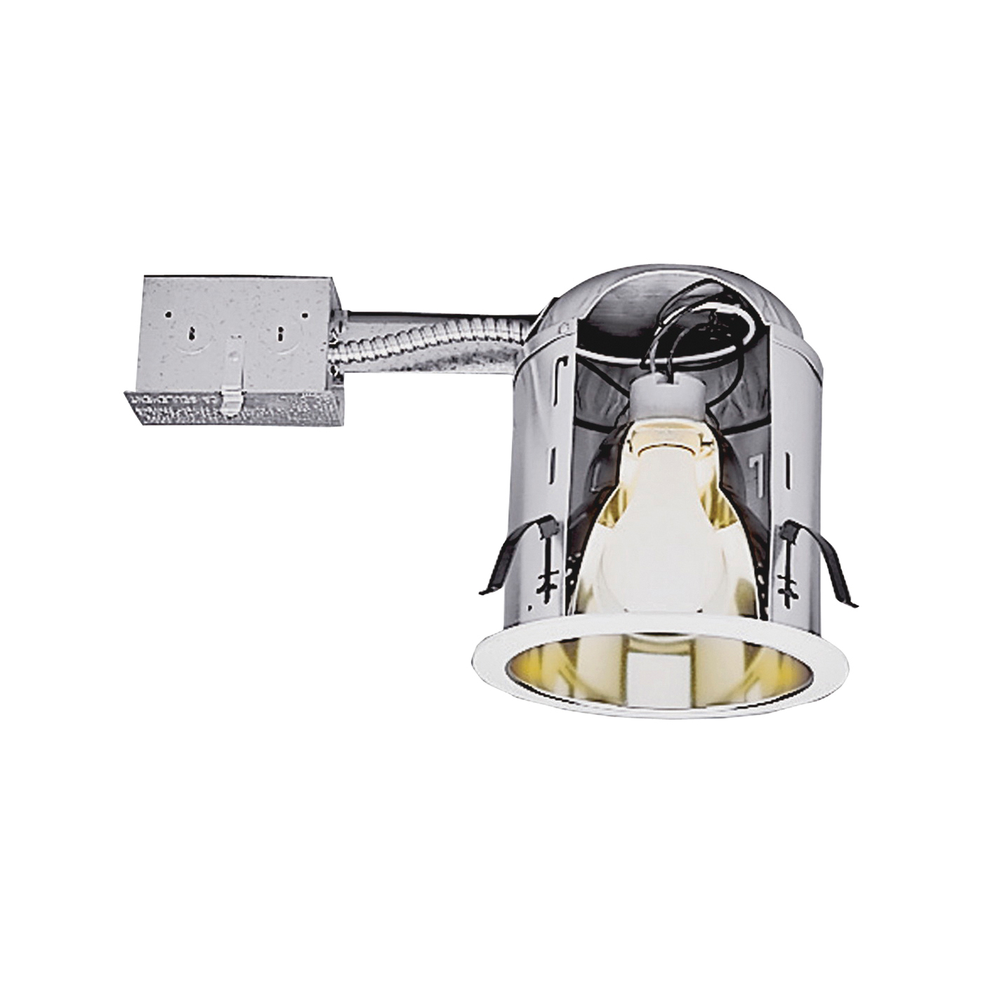 Picture of Halo H7RICT Recessed Housing, 6 in Dia Recessed Can, Aluminum