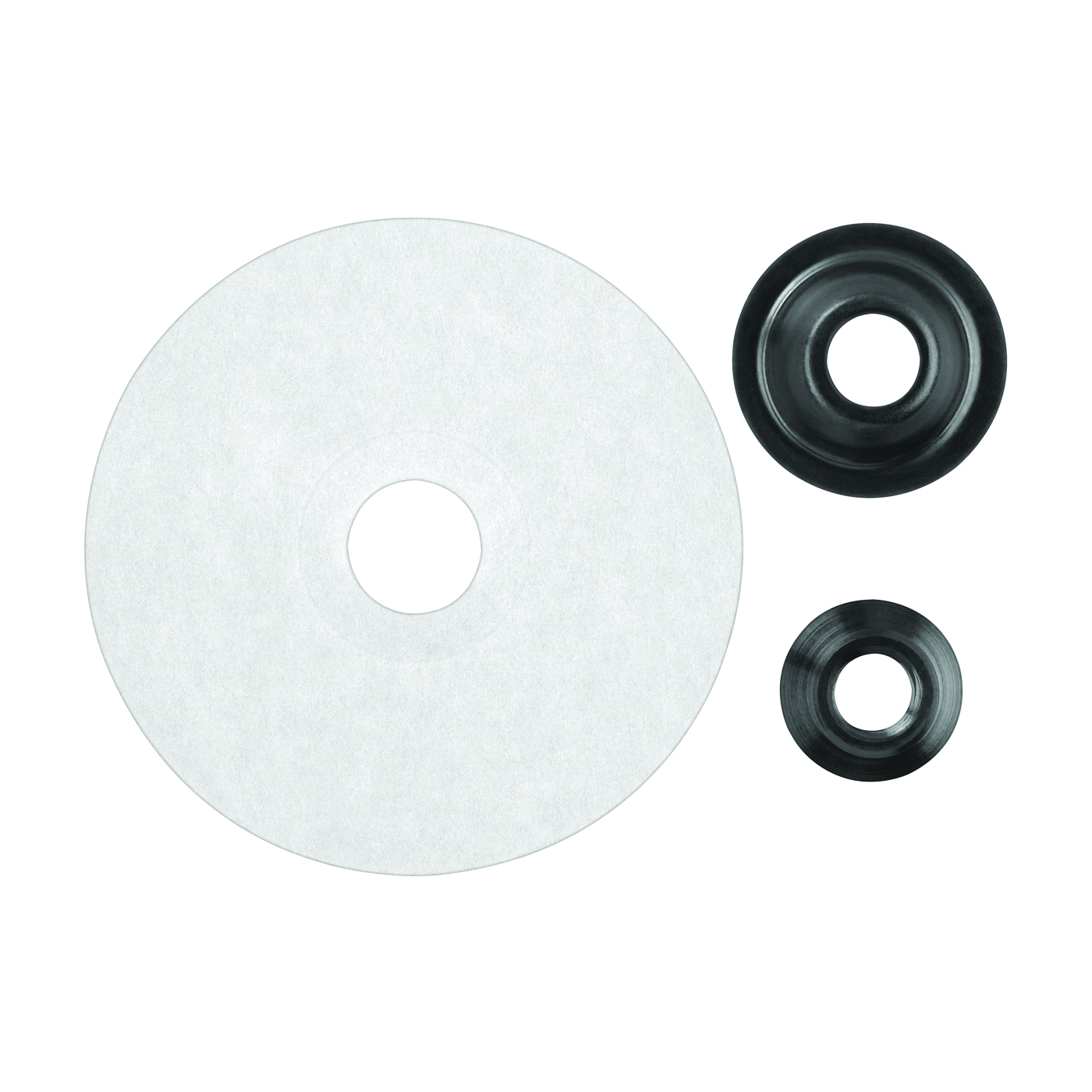 Picture of DeWALT DW4942 Fiber Disc Backing Pad with Clamp Nut, 4-1/2 in Dia, 5/8 in Arbor/Shank, Paper