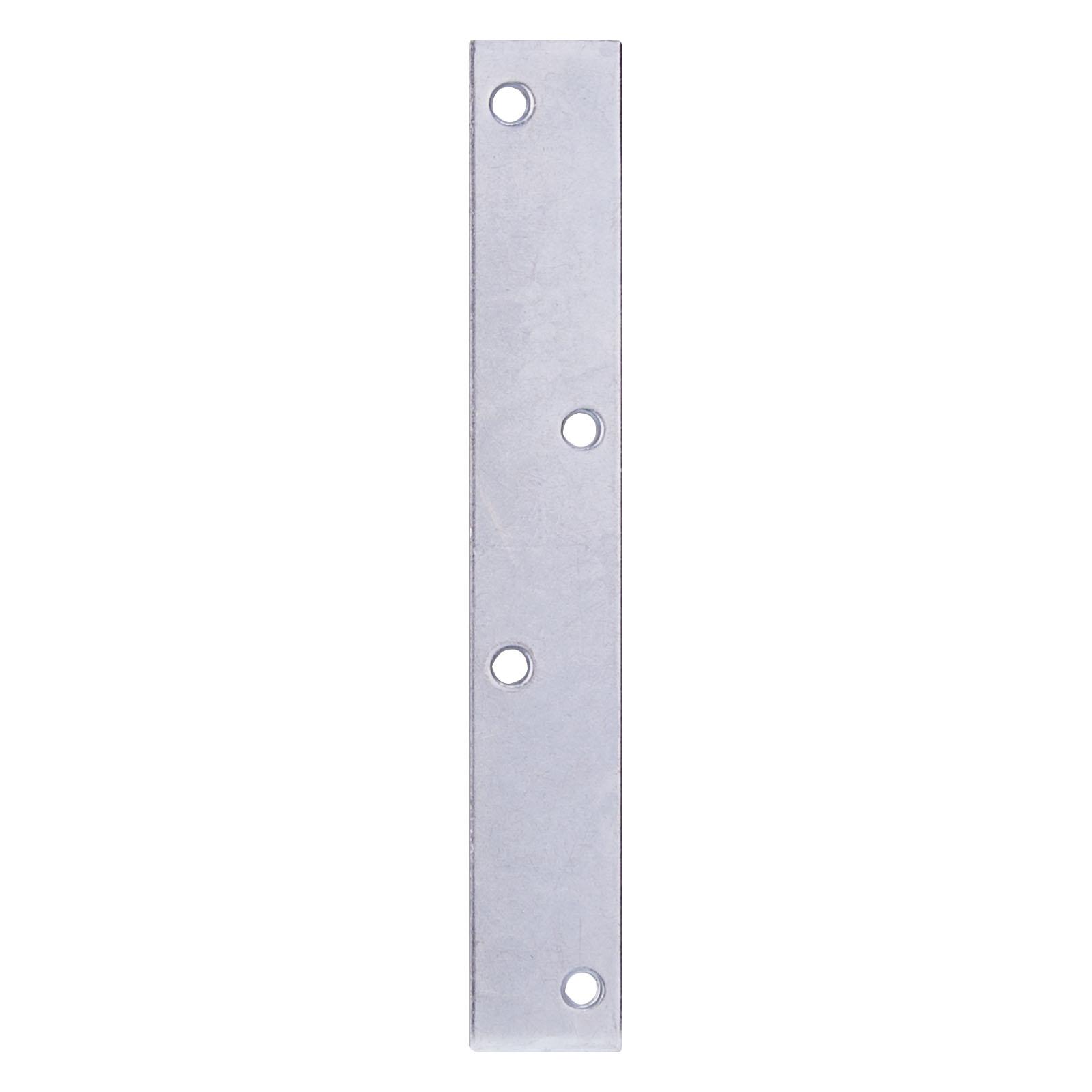 Picture of ProSource MP-Z08-013L Mending Plate, 8 in L, 1-1/4 in W, Steel, Zinc