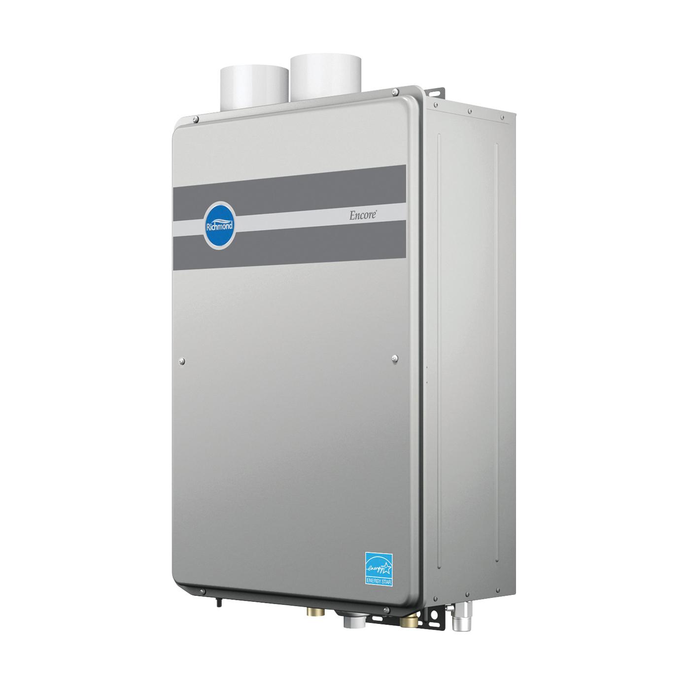 Picture of Richmond Encore RMTGH-95DVLP-1 Gas Water Heater, Propane, 11000 to 199900 Btu/hr BTU, 0.93 Energy Efficiency