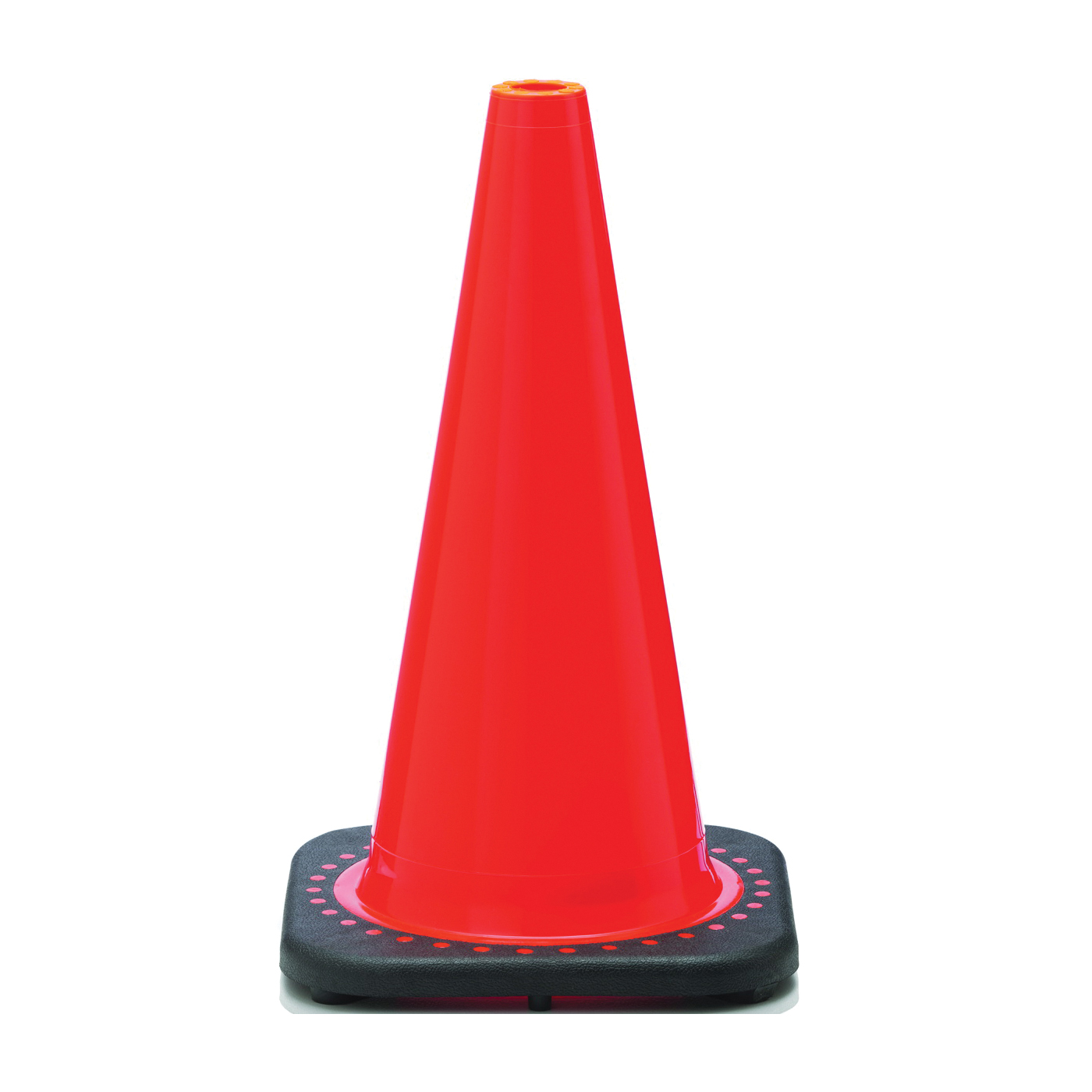 Picture of JBC Revolution RS RS45015C Traffic Safety Cone, 18 in H Cone, PVC Cone, Fluorescent Orange Cone