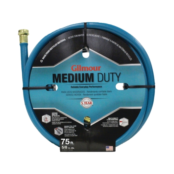 Picture of Gilmour 15058075 Garden Hose, 75 ft L, Vinyl, Green