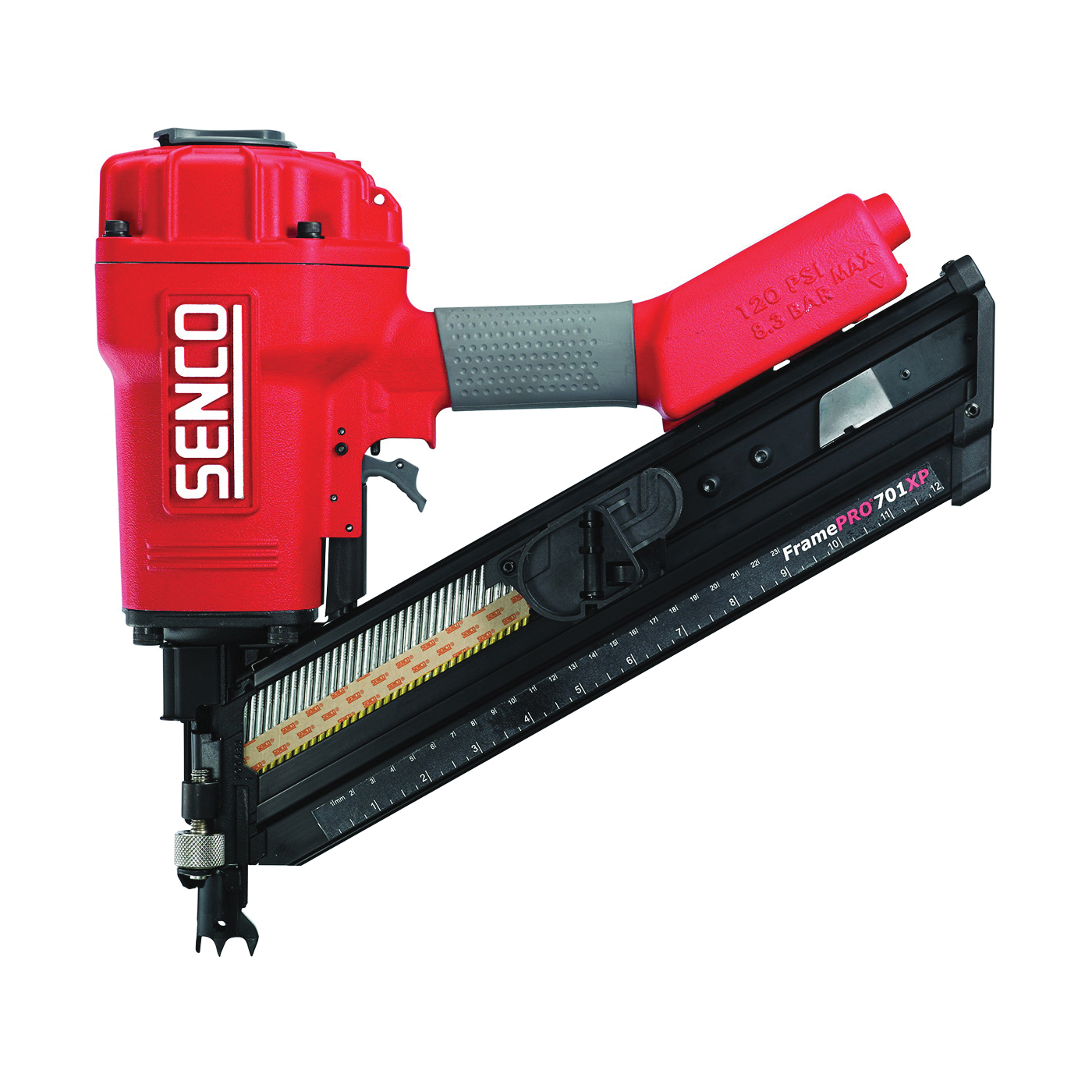 Picture of SENCO 2H0133N Framing Nailer, 70 Magazine, 34 deg Collation, Paper Tape Collation, 10 cfm/Shot Air
