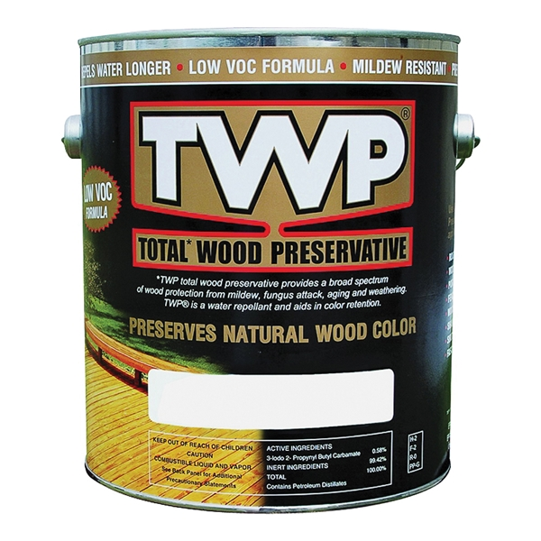 Picture of TWP 1500 Series TWP-1500-1 Wood Preservative, Clear, Liquid, 1 gal, Can
