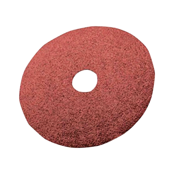 Picture of 3M 01740 Fiber Disc, 7 in Dia, 7/8 in Arbor, Coated, 80 Grit, Aluminum Oxide Abrasive, Fiber Backing