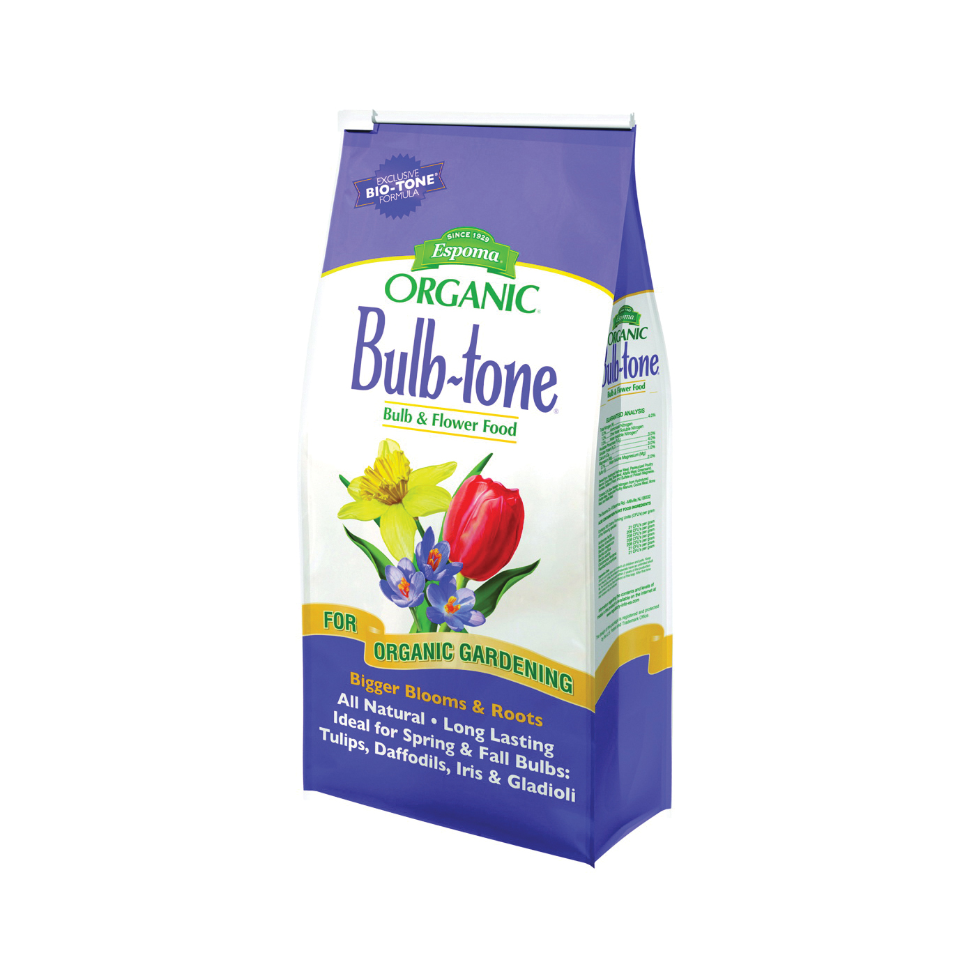 Picture of ESPOMA Bulb-Tone BT18 Plant Food, Granular, 18 lb Package, Bag