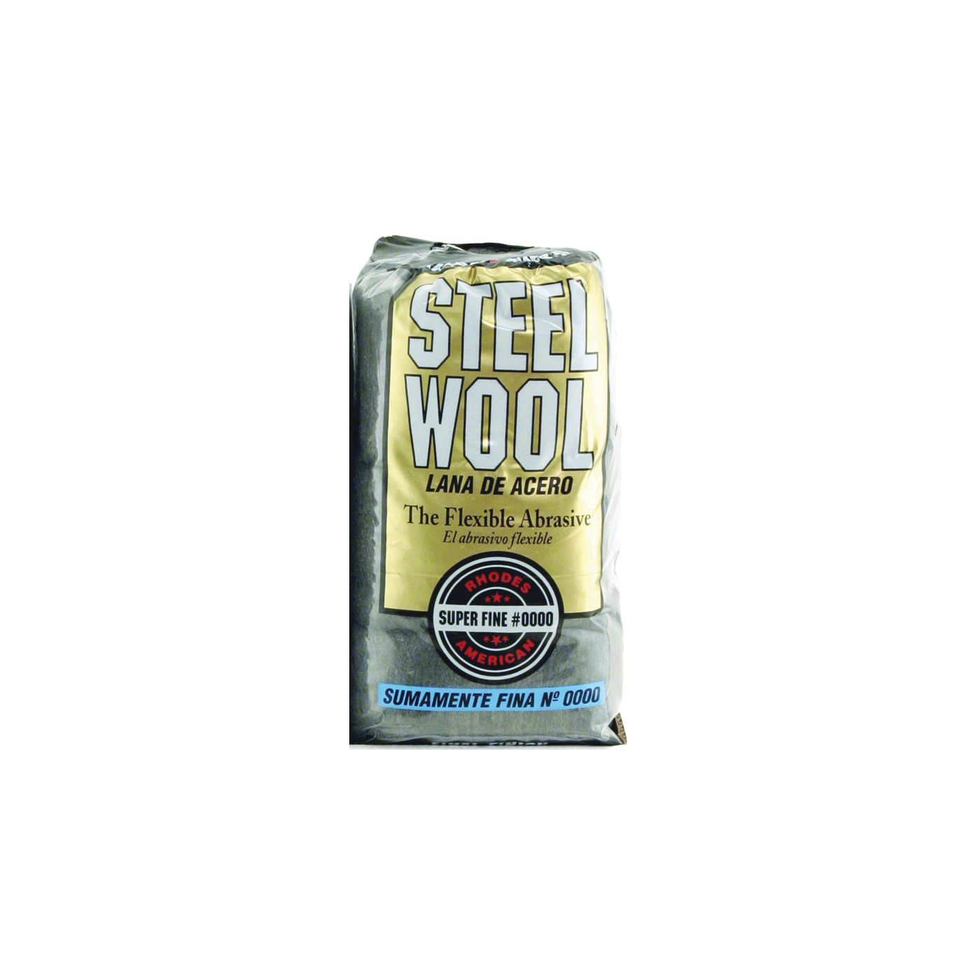 Picture of Homax 106600-06 Steel Wool Pad, #0000 Grit, Super Fine, Gray