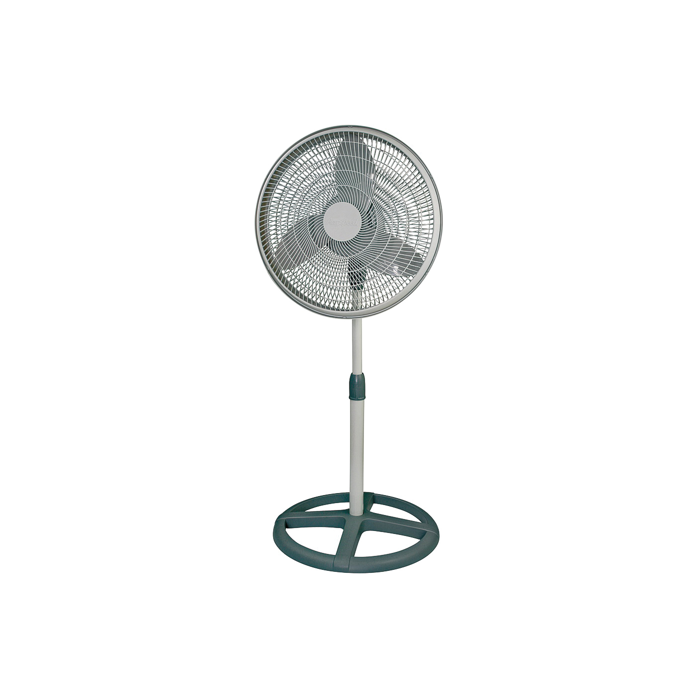 Picture of Camair PF160 Oscillating Pedestal Fan, 120 deg Sweep, 16 in Dia Blade, 5-Blade, Black