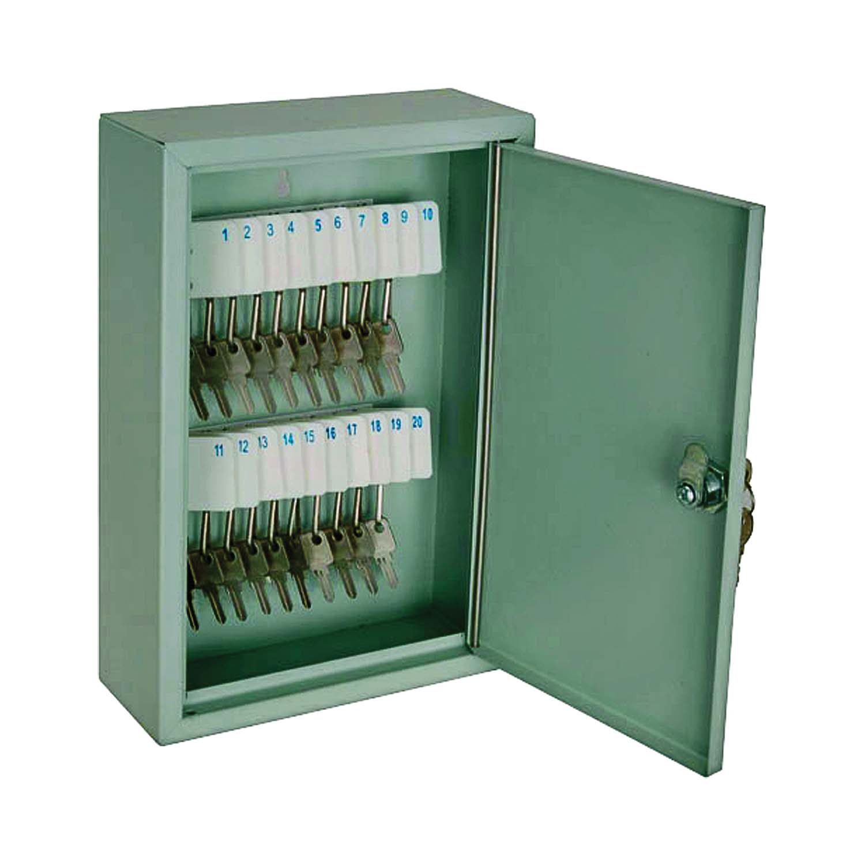 Picture of MINTCRAFT TS821 Key Box, Steel, 11.81 in W, 3-5/32 in H, 7-7/8 in D
