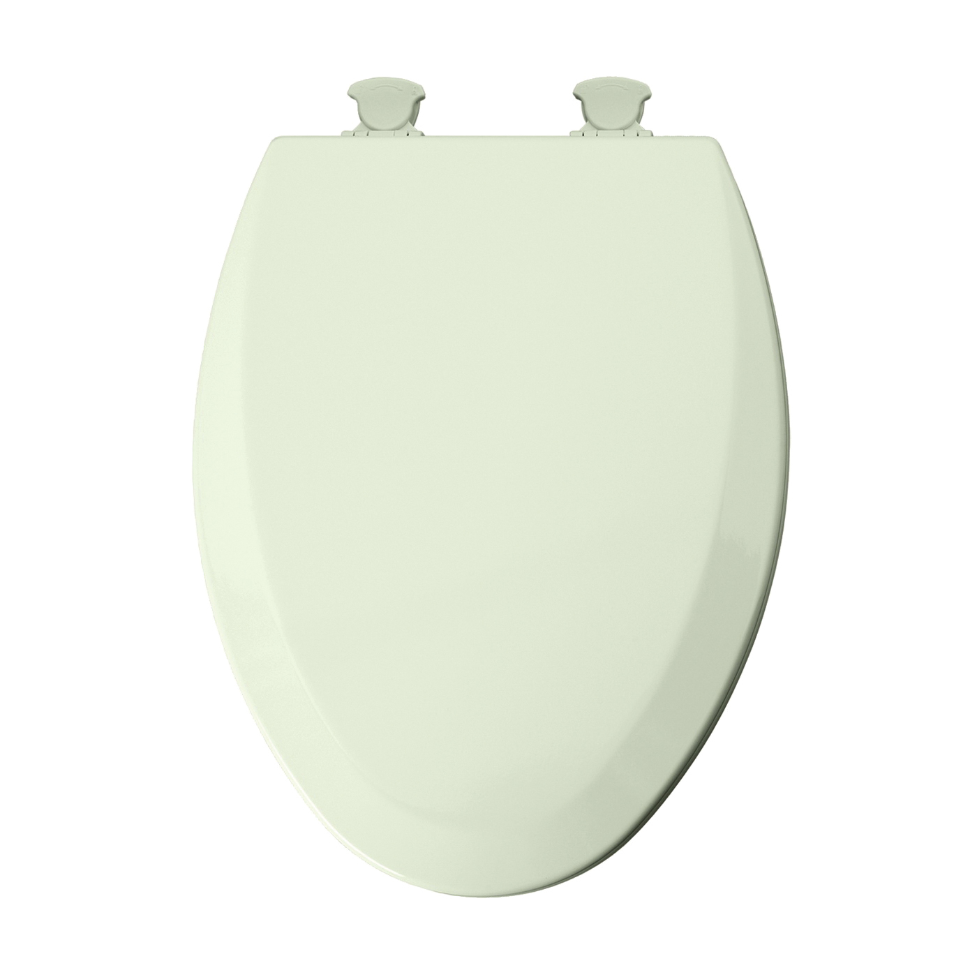 Picture of Mayfair 141EC 346/146EC Toilet Seat, Elongated, Wood, Biscuit, Twist Hinge