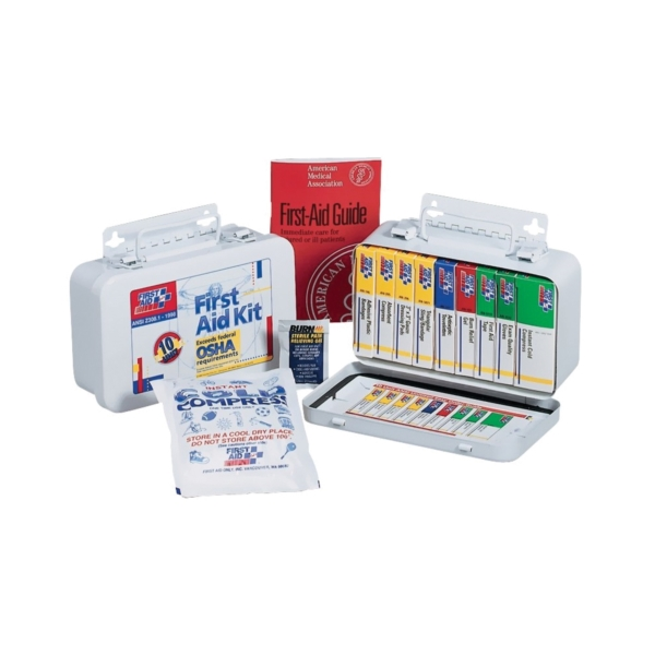 Picture of FIRST AID ONLY 240-AN First Aid Kit, 65 -Piece, Metal