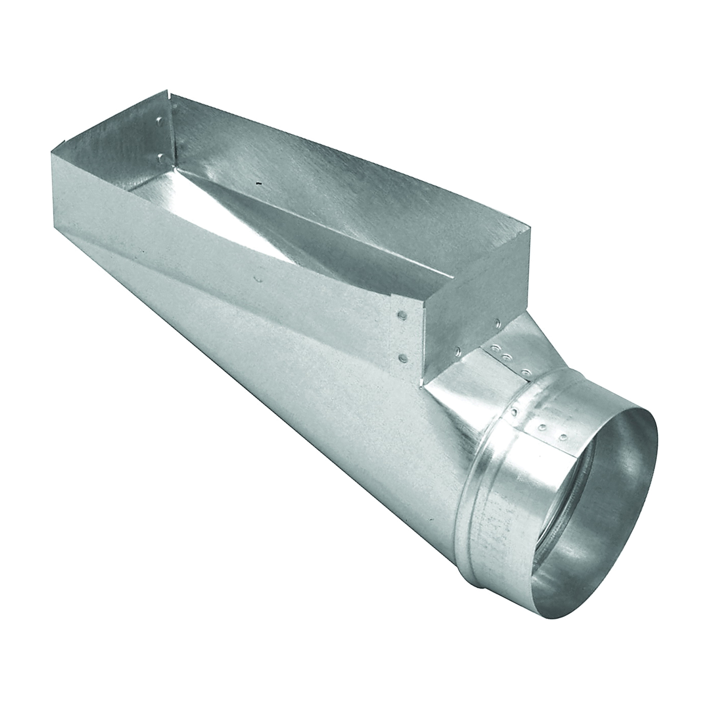 Picture of Imperial GV0667 Wall Register Boot, 4 in L, 10 in W, 6 in H, Galvanized